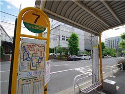 There are Bus station near the house.