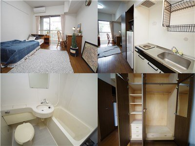 guesthouse sharehouse オークマンション横浜 room204