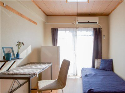 guesthouse sharehouse RIVERSIDE TSURUKAWA room204D