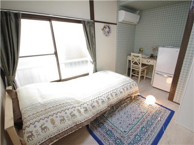 guesthouse sharehouse 香草花園 町屋 room203