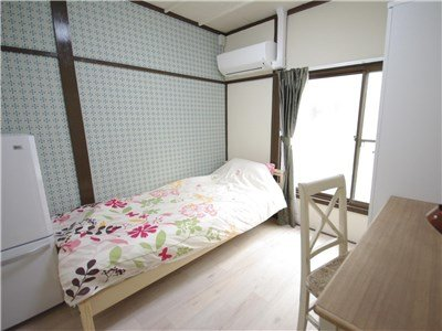 guesthouse sharehouse 香草花園 町屋 room206