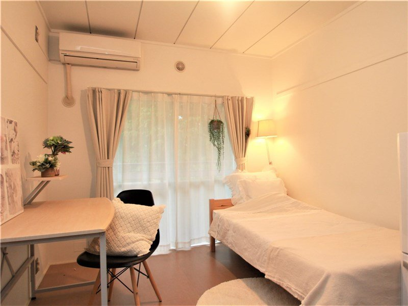 guesthouse sharehouse Garden 陽台 鷹之台 room7-C