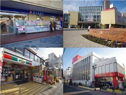 IEON Mall、 and SEIYU for everyday shopping!