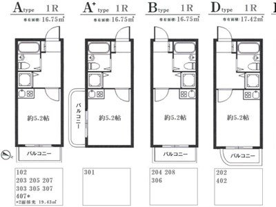 guesthouse sharehouse MAISON ECLAIREE NISHI MAGOME building11