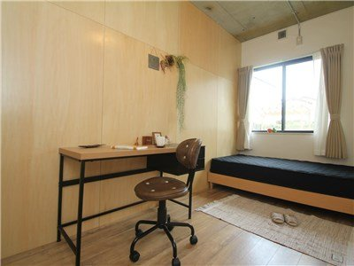 guesthouse sharehouse Garden 陽台 西武柳澤 room104B