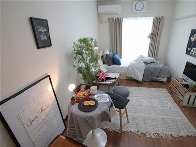 guesthouse sharehouse SOCIAL RESIDENCE AOBADAI room123