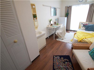 guesthouse sharehouse SOCIAL RESIDENCE AOBADAI room201