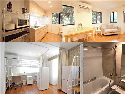 guesthouse sharehouse OAK TERRACE SANGENJAYA roomD-208
