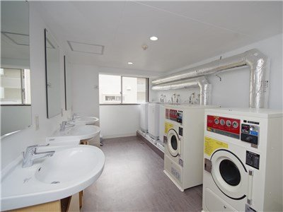 Washing machine room